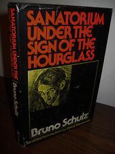 1st Edition SANATORIUM UNDER SIGN HOURGLASS Bruno Schulz ILLUSTRATED Classic