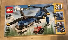 LEGO Creator Twin Spin Helicopter 31049 3 in 1 326 pcs Set NEW factory sealed