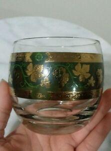 Vintage drinking glass set of 4