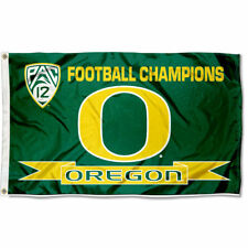 Oregon Ducks Pac 12 Champions Flag