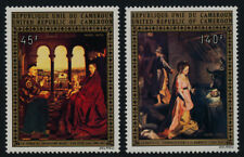 Cameroun C208-9 MNH Christmas, Art, Nativity