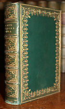 1888 The Poetical Works of Sir Walter Scott Minstrelsy Bickers Leather Binding