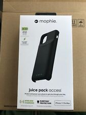 mophie - Juice Pack External Battery Case for Apple® iPhone® 11 Pro Max blk