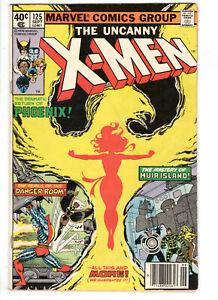 UNCANNY X-MEN #125 (1979) - GRADE 6.0 - 1ST APP MUTANT X PROTEUS - PHOENIX!