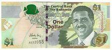 **   BAHAMAS     1  dollars   2008   p-71    UNC   **