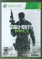 Call of Duty: Modern Warfare 3 (Microsoft Xbox 360, 2011) (Complete w/ Manual)