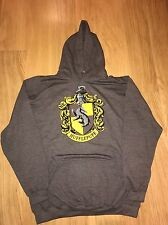 Offical Harry Potter Hufflepuff Charcoal Hoodie Size XXL BNWT