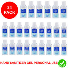24 PACK Hand Sanitizer Gel 75% Alcohol Meets WHO/CDC Standards Scent Free 2OZ