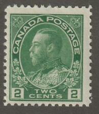 "Canada 1922 #107 King George V ""Admiral"" Issue MNH Fine"