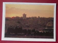Carte postale Jerusalem Israel    postcard