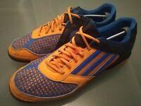 Men's Size 11 Adidas Freefootball X-ite 5 Football Astro Trainers Blue Orange