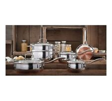 The Pioneer Woman Copper Charm 10-Piece Stainless Steel Cookware Set