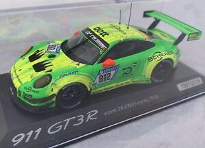 Porsche 911 GT3 R 24H Nurburgring 2018 Winner 1:43 Limited Minichamps Spark