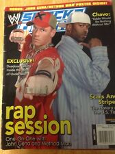 June 2004 WWE Smackdown Magazine Cena Method Man Sable (NO POSTER)