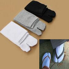 1 Pair Japanese Men Women Kimono Flip Flop Sandal Split Toe Tabi Ninja Socks