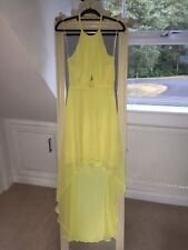 halter neck yellow dress from H&M