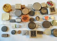 40 Containers Watchmakers TINS, Box, Plastic from a Watchmakers Lot# 23A