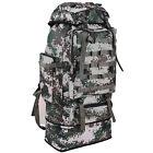 100L Military Tactical Shoulder Backpack Outdoor Waterproof Camping Hiking Bag