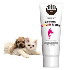 Dog Hair Dye Hair Bleach Hair Coloring Stylish Pet Brown 50ml Professional