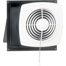 Bathroom 470 CFM Exhaust Fan Through the Wall Kitchen Bath Shower Laundry Room