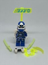 LEGO Ninjago Jay (Digi Jay) Minifigure W/ Gameplayer Label - Set 71708