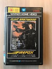 Firefox Ex-Rental Big Box VHS Tape English dutch subs Warner