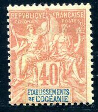 OCEANIE 1892 Yvert 10 * seltene MARKE 125€(D8921