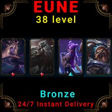 EUNE Bronze Account LoL Acc SSW Rengar Dark Cosmic Lux God-King Darius KDA Kaisa