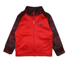 Under Armour Toddler Boys Red & Black Track Jacket Size 2T