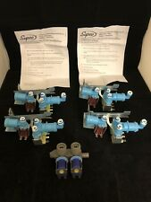 5 QTY! Supco WV2702 Refrigerator Water Valve Replaces 242252702 BULK LOT NEW