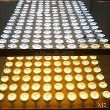 Ultra Bright 12v 3w Mr16 Dimmable LED COB Spot Light Lamp Bulb Silver