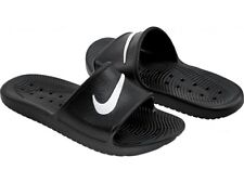 16637a9c00d8 Nike Kawa Shower Mens Slide Black White Shoes 8 UK