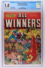 All Winners Comics #7 - Timely Comics 1943 CGC 1.0
