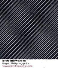 Hydrographics film carbon fibre BESTSELLER water transfer HugasLTD ROLLED ONLY!