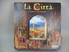 JEU DE PLATEAU / LA CITTA / L ITALIE DE LA RENAISSANCE / TILSIT EDITIONS/ 2002