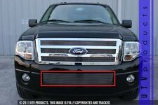 GTG 2007 - 2014 Ford Expedition 1PC Polished Bumper Billet Grille Grill Insert
