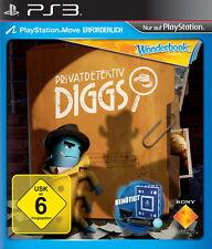 Wonderbook: Privatdetektiv Diggs (Sony PlayStation 3)  ++neu und ovp++
