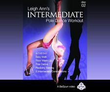 LeighAnn Orsi Pole Dancing/Stripper DVD-Intermed X-Pole