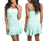 NEW SEXY 6 8 10 12 WOMENS MINI DRESS TOP PARTY CASUAL CLUBBING EVERYDAY CLOTHING