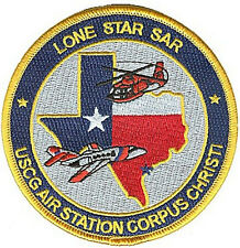 Air Station Corpus Christi Texas W5135 Uscg Coast Guard patch flag helo jet map