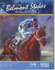 2004 Belmont Stakes Horse Racing Program Birstone Smarty Jones MINT!