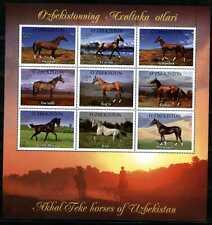 2012. Uzbekistan. HORSES. M/sheet. MNH. Sc.708