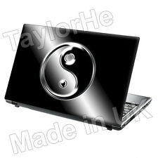 "15.6"" Laptop Skin Cover Sticker Decal ying yang Chinese"