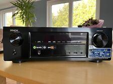 Denon AVR-X1200W 7.2Kanal-AV-Receiver, 4K, Dolby Atmos, DTS:X, Wlan, Airplay