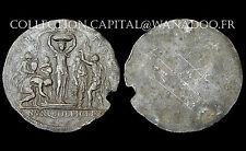 Uni-face pour la Médaille de Philippe II°. 1555. Etain. ORIGINAL. RARE