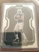2020 Panini Chronicles PRIZM BLACK Base Rookie JACOB EASON Colts RC #PB-25
