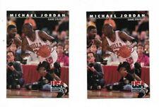 (2) 1992-93 Skybox #39 Michael Jordan Chicago Bulls Basketball Card Lot