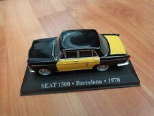 IXO ALTAYA 1/43 - SEAT 1500 BARCELONA 1970 SPAIN TAXI DIECAST MODEL CAR