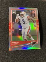 Marlon Davison 2020 Donruss Optic Silver Prizm SP RC Rookie | Atlanta Falcons
