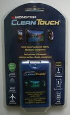 Monster Clean Touch CleanTouch LCD Screen Cleaner Spray & Cloth (New & Sealed)